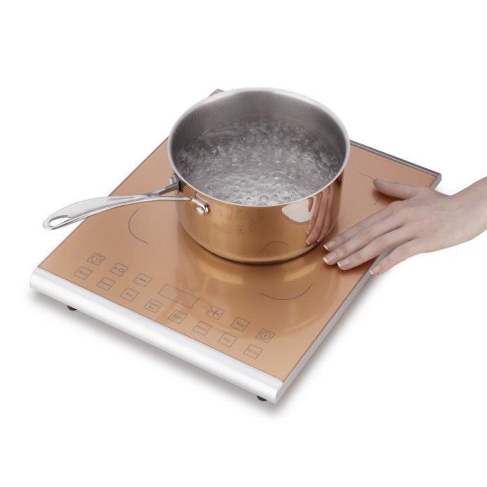 Induction Cooktop Burner 1800 Watt Electric Countertop Hotplate Stove Cooker
