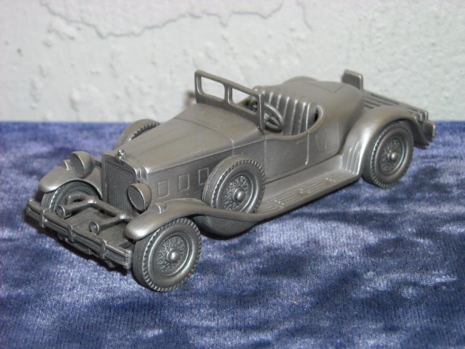 Danbury Mint Pewter 1931 Stutz Bearcat