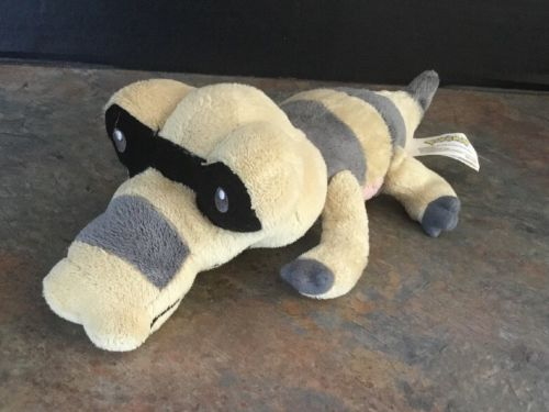 SANDILE Pokemon Black & White 1 Mini Plush Jakks Pacific Crocodile Gator 10