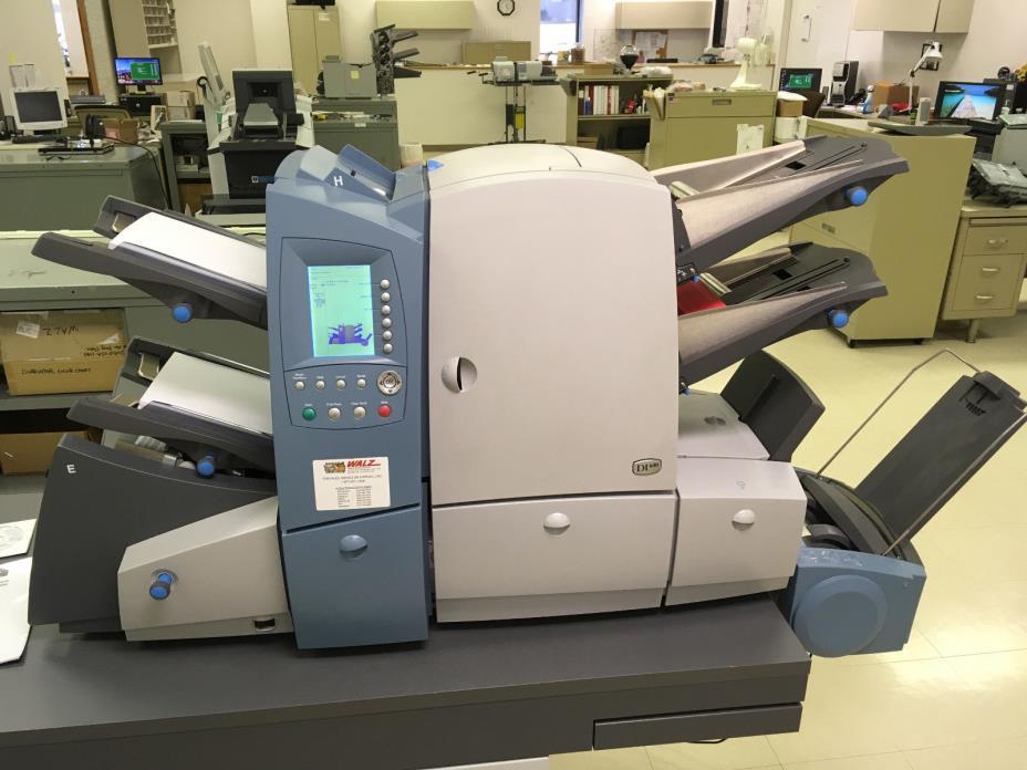PItney Bowes DI-600 / Secap SI-4400 Folder Inserter
