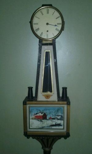 Early ca.1800's Banjo clock project!