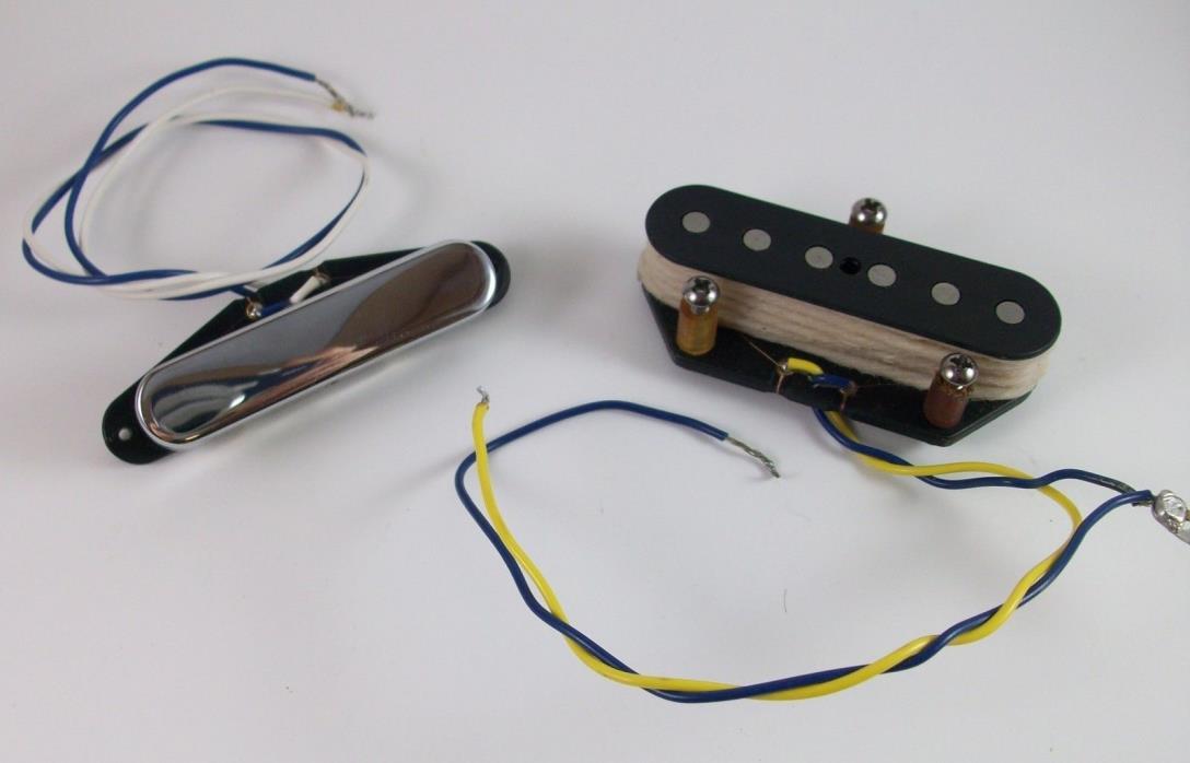 1998 Fender Classic Series 50's Tele Pickups Telecaster Neck & Bridge