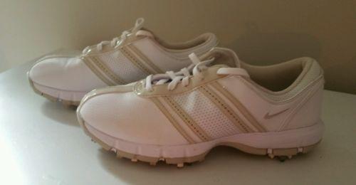 NIKE womens golf shoe white 7.5