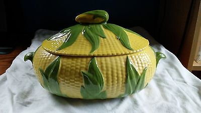 CORN THEMED LIDDED CASSEROLE DISH