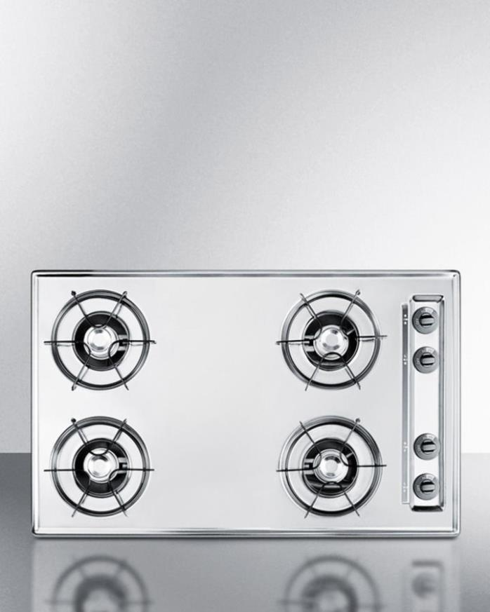 Summit Gas Cooktop Stove ZNL053