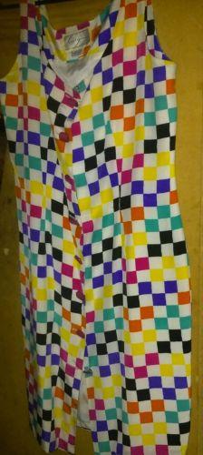 vintage 100% pure silk designer dress