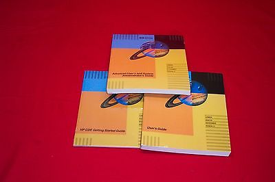 Common Desktop Environment 1.0 CDE HPUX manuals HP user guides UNIX