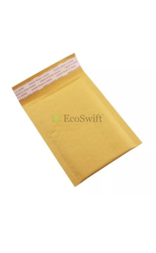 15 #0000 4x6 SMALL SELF SEAL KRAFT BUBBLE MAILERS PADDED ENVELOPES 4
