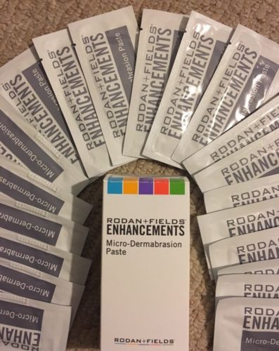 Rodan + and Fields Microdermabrasion paste ***2 Paste Packet*** ??FREE SHIP??