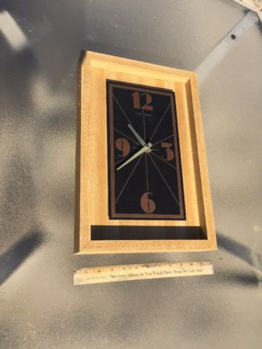 Verichron Quartz Wall Clock Square