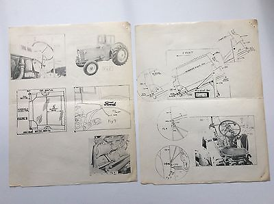 Original 600 601 800 801 Ford Tractor Half Cab Install Instructions