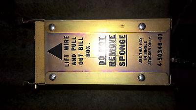 ROWE BC100 BILL CHANGER MACHINE BILL STACKER BOX