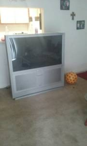 BIG SCREEN AND ENTERTAINMENT CENTER (Shelbyville)