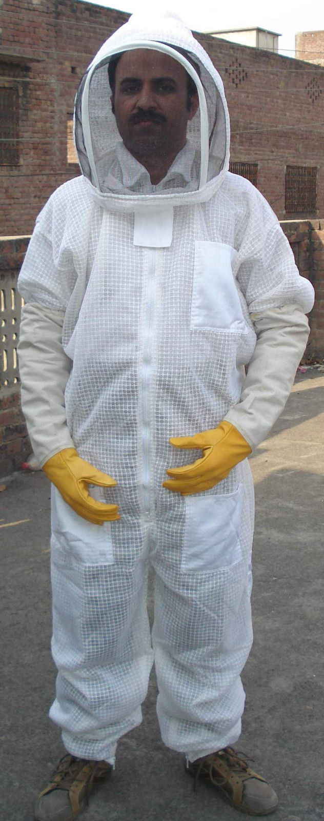 BeeHappy Premium Ultra Ventilated Bee Keeping Suits 3XL