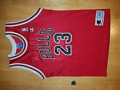 Michael Jordan Chicago Bulls Champion Jersey L 14-16