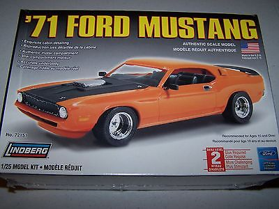 LINDBERG 1971 FORD MUSTANG - FACTORY SEALED