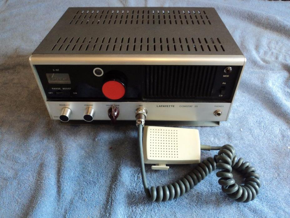 Lafayette Comstat 35 CB Radio Base Station 23 Channel