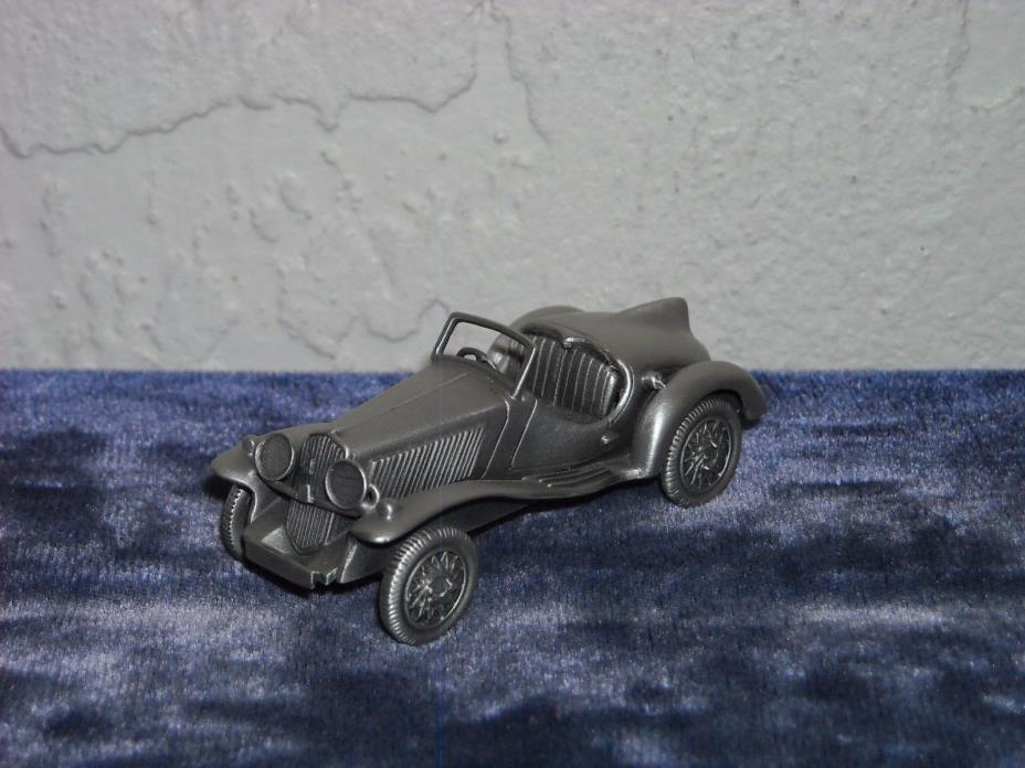 Danbury Mint Pewter 1935 Fiat 508 S