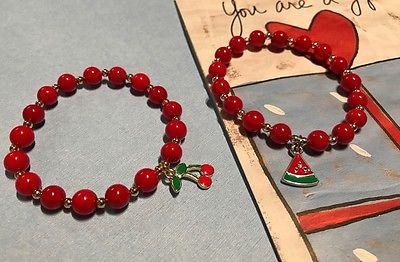 Kids' red bracelet