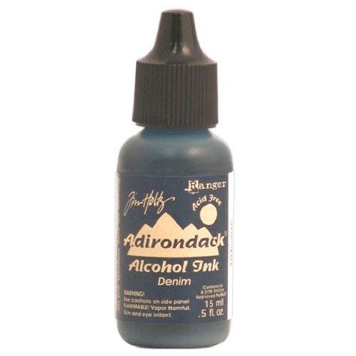 Ranger Tim Holtz Adirondack Earthtones Alcohol Ink - Denim