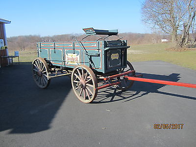 horse drawn wagon (antique)