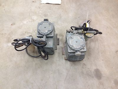 LOT OF 2 Good Gast Core Drill Milker Milking Machine Vacuum Pump