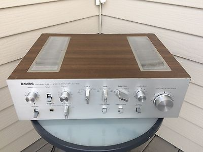 Yamaha CA-600 Stereo Integrated Amplifier, Fully Restored