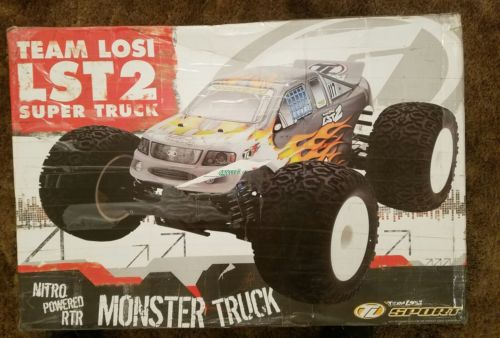 Team losi Lst 2 super truck. Brand new in the box