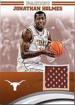 2015 Panini Texas Jerseys #65 Jonathan Holmes RC Jersey