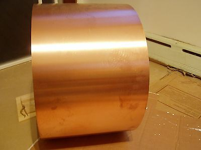 New Copper Sheet Metal Coil By The Foot 16 ounces per Foot