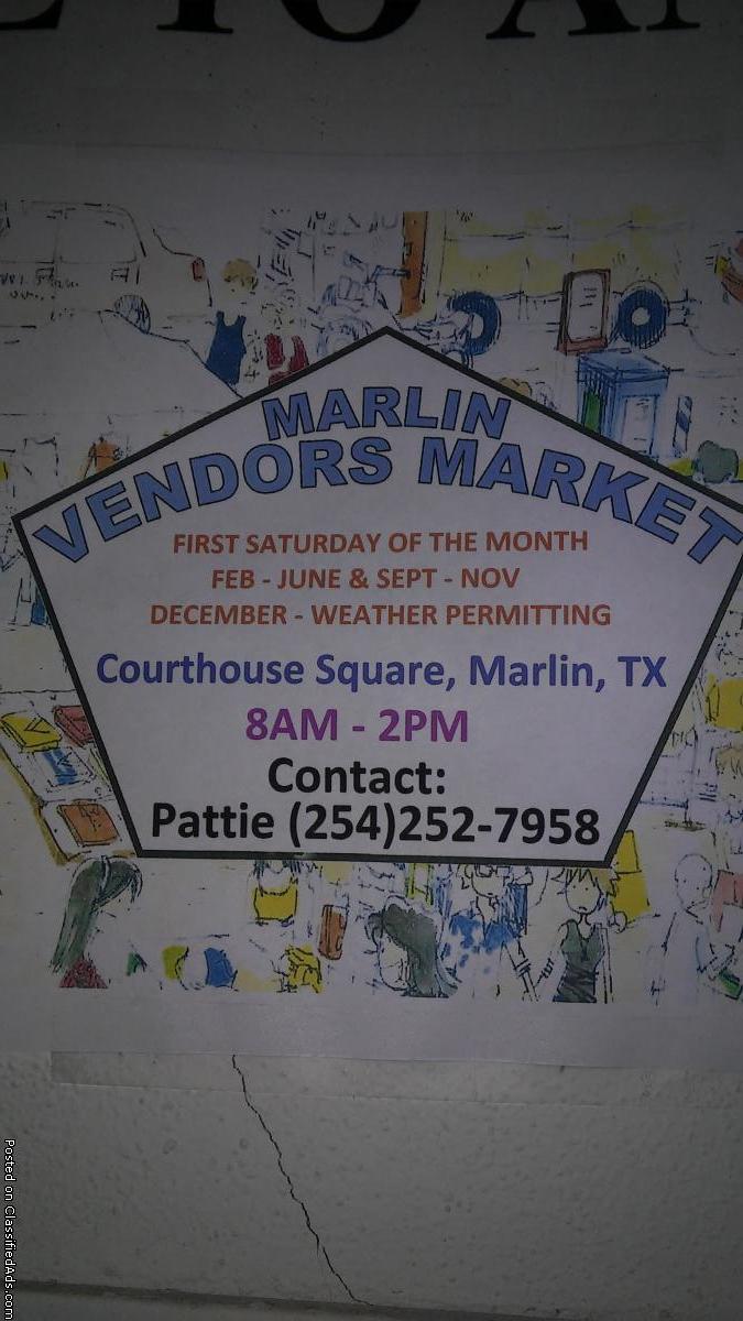 Marlin Vendor Market
