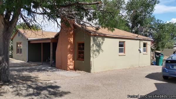 2-3 bedroom 1 bath BIG fenced back yard