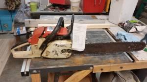 Chain saw 028 for sale (Paoli)