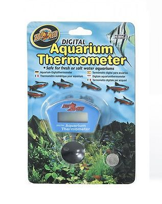 Zoo Med Fully Submersible Digital Fish Aquarium Thermometer TH-25