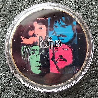 The Beatles 24KT GOLD MEMORABILIA COLLECTIBLE COIN  #3