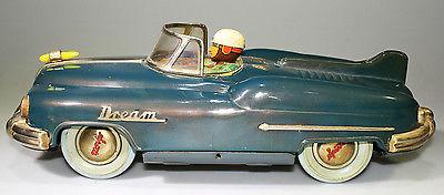 VERY RARE 1950's JAPANESE DREAM CAR BY TOY NOMURA