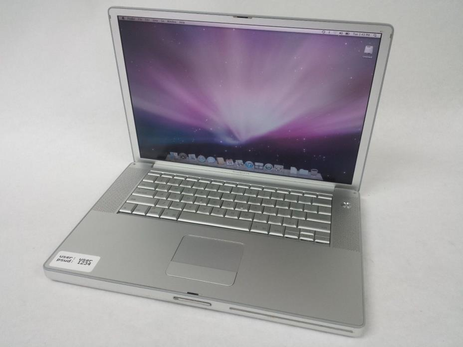 Apple PowerBook G4 A1138 15