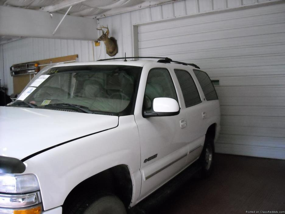 02 Chevy Tahoe Parts