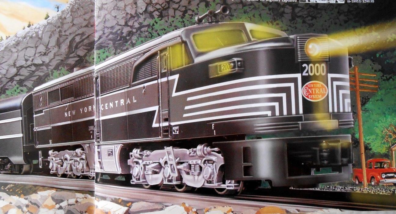 LIONEL NEW YORK CENTRAL ALCO PA-1 AB DIESEL ENGINE SET.   N/BOX, CC, RAILSOUNDS