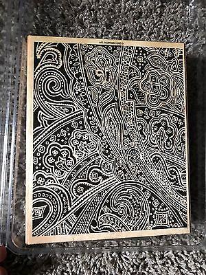 Stampin Up Stamp Set Paisley Print Background