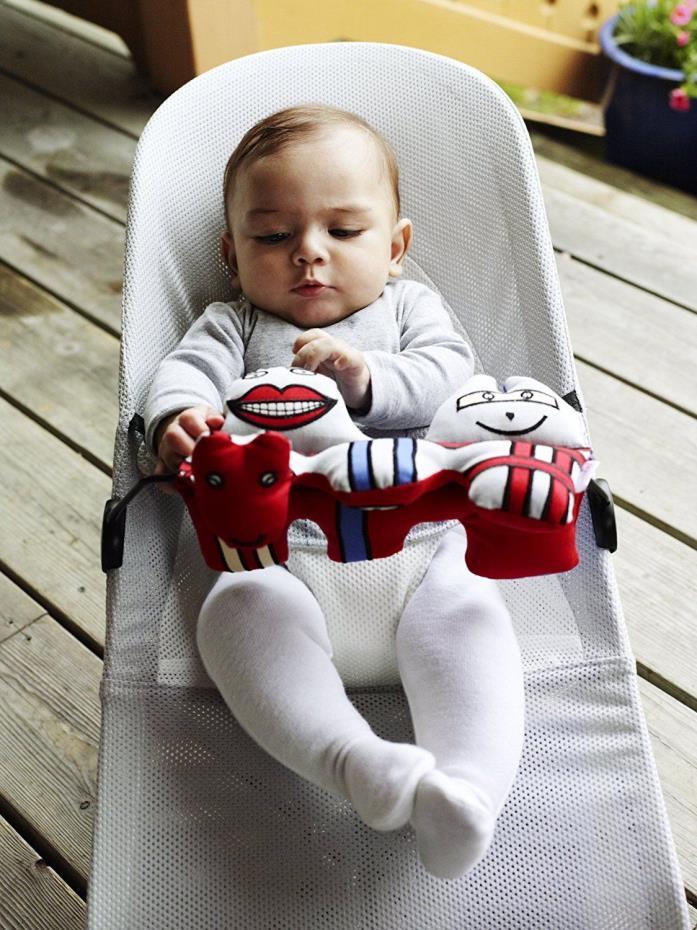 Bouncer Baby Comfort Deluxe Seat Balance Ingenuity Soft Chair Babybjorn