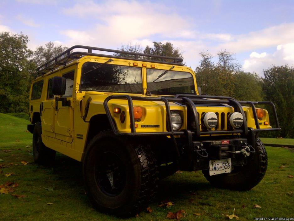 2000 Hummer H1 SDCM DLX Grey INT Package