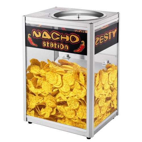 Nacho Chip Warming Station Commercial Grade Movie Night Theater Party
