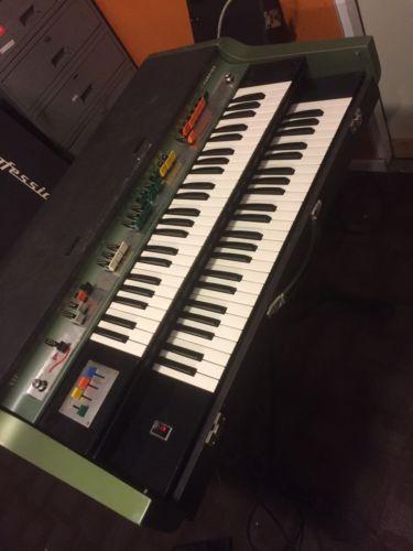 Farfisa VIP 400 Vip400 Combo Organ With Another VIP 400 Parts Organ