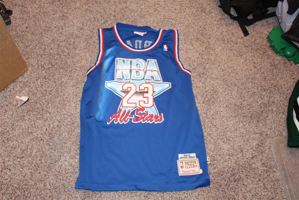 Vtg Nba Jersey NBA All Stars Chicago Bulls Michael Jordan Mitchell & Ness 48 XL
