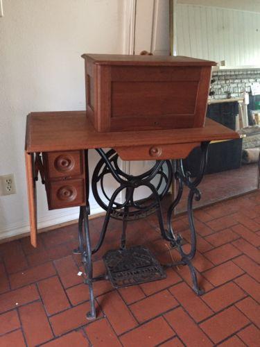 Antique Wilson Treadle Sewing Machine