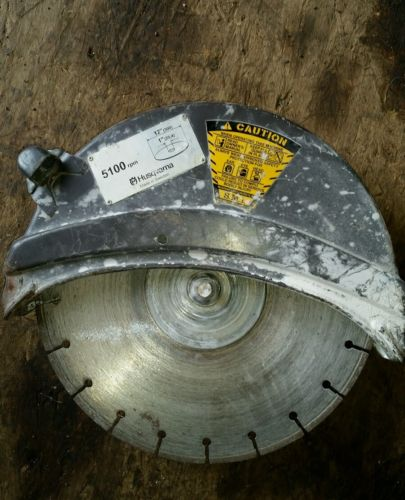 Husqvarna 371k concrete cutting wheel assembly
