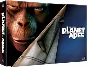 PLANET OF THE APES 40-Year Evolution BLU-RAY Box Set! BRAND NEW!