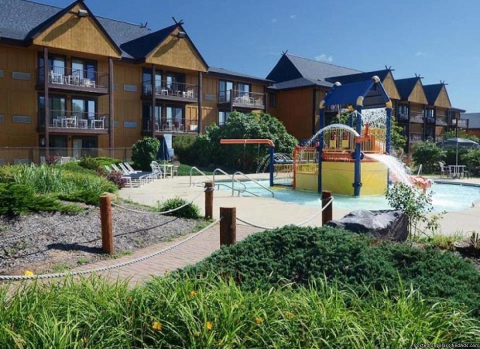 Resort rental -- Polynesian Water Park Resort, Wisconsin Dells