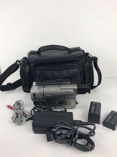 Sony Handycam CCD-TRV57 8mm Video8 HI8 HI 8 Camcorder VCR Player Video Transfer